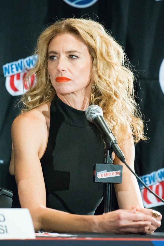 Claudia Black - New York Comic-Con 2015 in NY