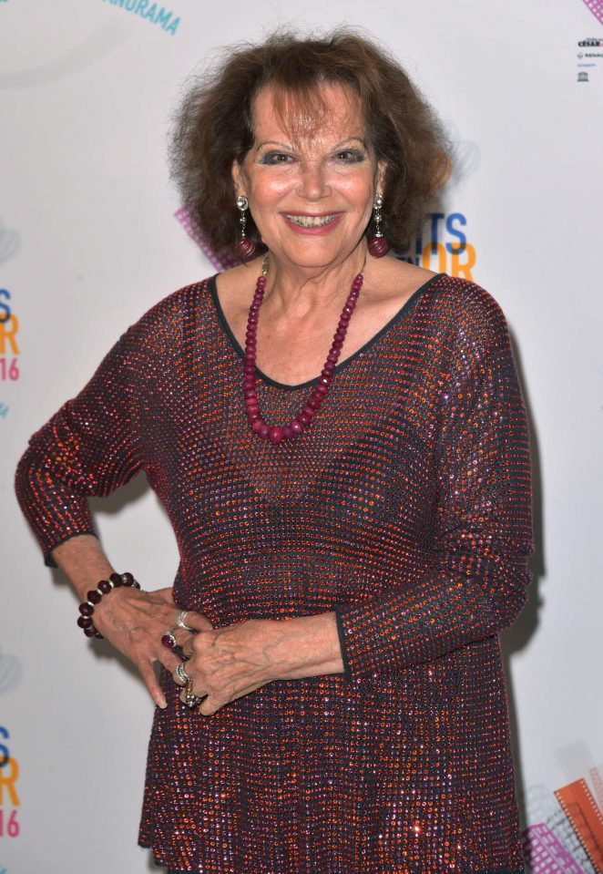 Claudia Cardinale - Les Nuits En Or 2016 Gala dinner at UNESCO in Paris