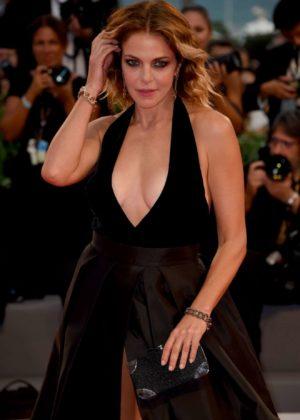 Claudia Gerini - Ammore e Malavita Premiere at 2017 Venice Film Festival