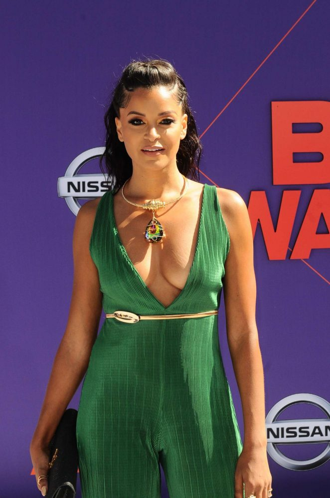 Claudia Jordan - 2018 BET Awards in Los Angeles