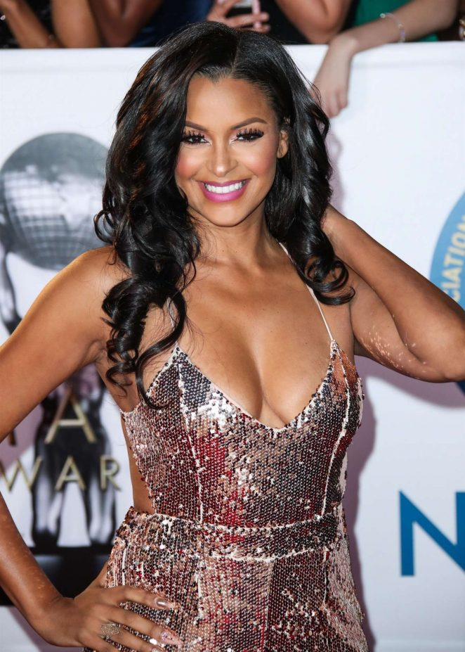 Claudia Jordan - 49th NAACP Image Awards in Pasadena