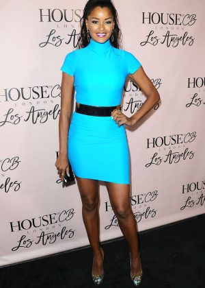 Claudia Jordan - House of CB Launch in West Hollywood