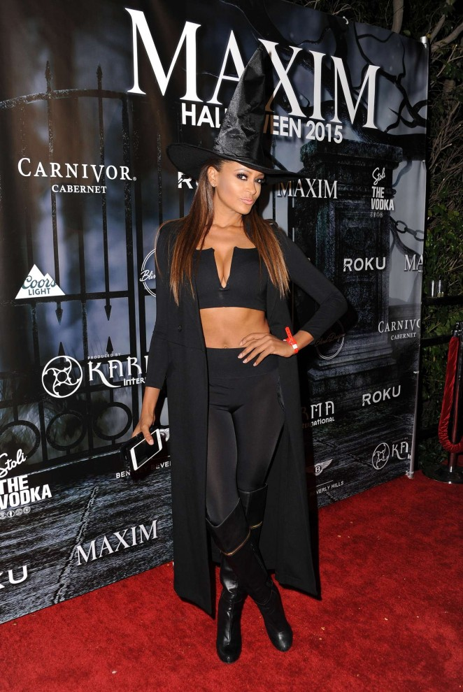 Claudia Jordan – MAXIM Magazine's Official Halloween Party in Beverly Hills