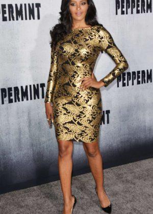 Claudia Jordan - 'Peppermint' Premiere in Los Angeles