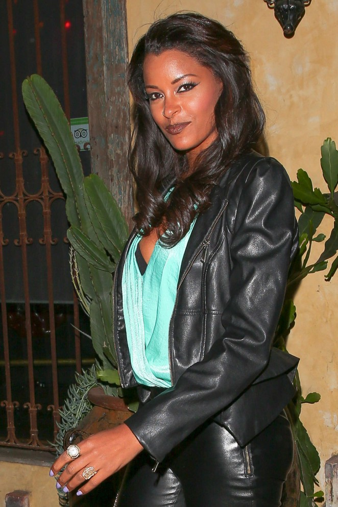 Claudia Jordan - Snoop Dogg's Vogue Dinner Party at El Compadre Restaurant in Hollywood
