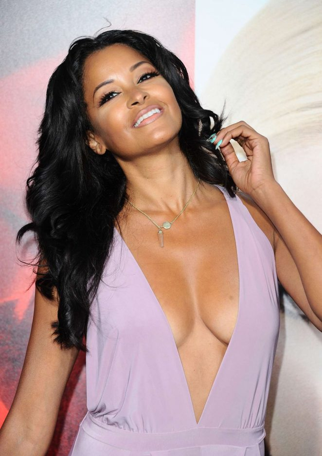 Claudia Jordan - 'Unforgettable' Premiere in Los Angeles