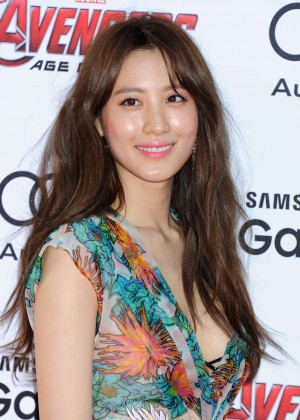 """Claudia Kim - """"Avengers: Age Of Ultron"""" Premiere in Hollywood"""
