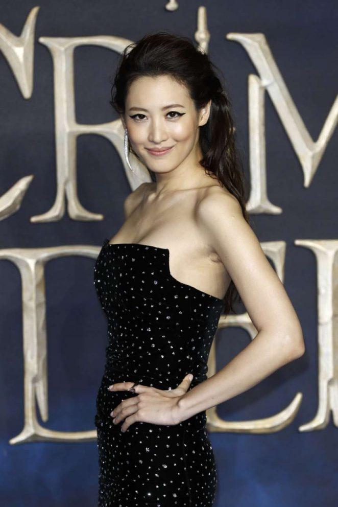 Claudia Kim – 'Fantastic Beasts: The Crimes Of Grindelwald' Premiere in London