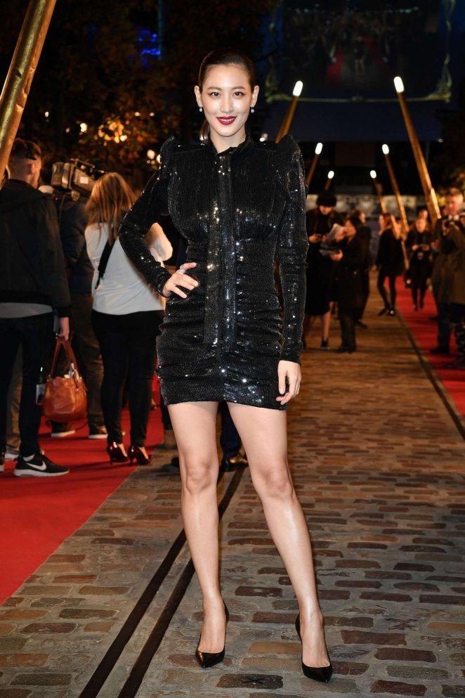 Claudia Kim – 'Fantastic Beasts The Crimes of Grindelwald' Premiere in Paris