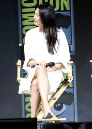 Claudia Kim - Warner Bros. Presentation at 2018 Comic-Con in San Diego