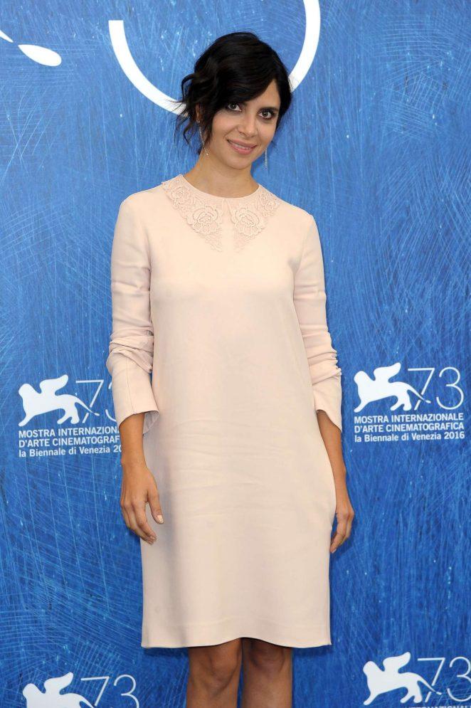 Claudia Potenza  - 'Monte' Photocall at 73rd Venice Film Festival in Venice