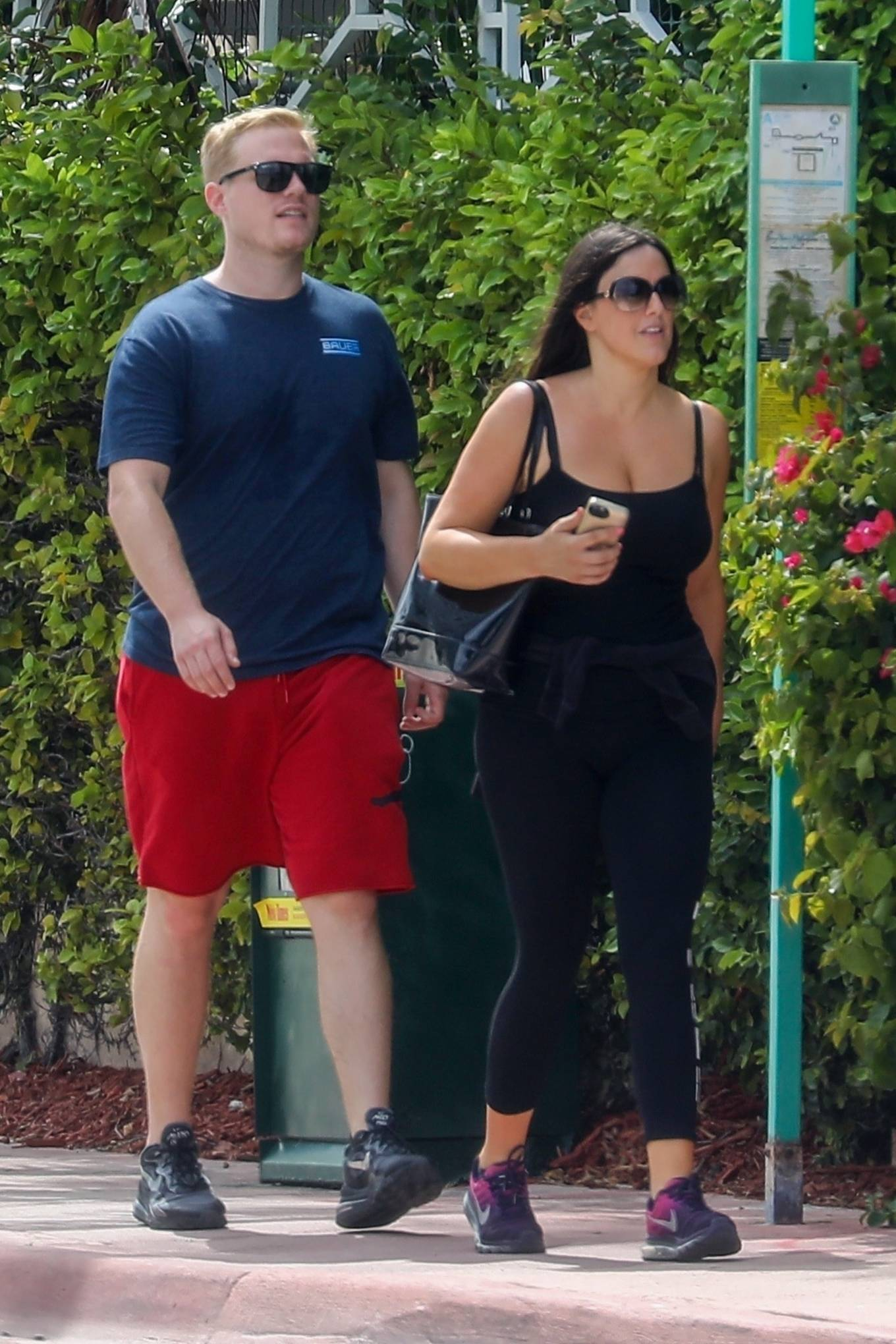 Claudia Romani and Chris Johns - Out in Miami Beach