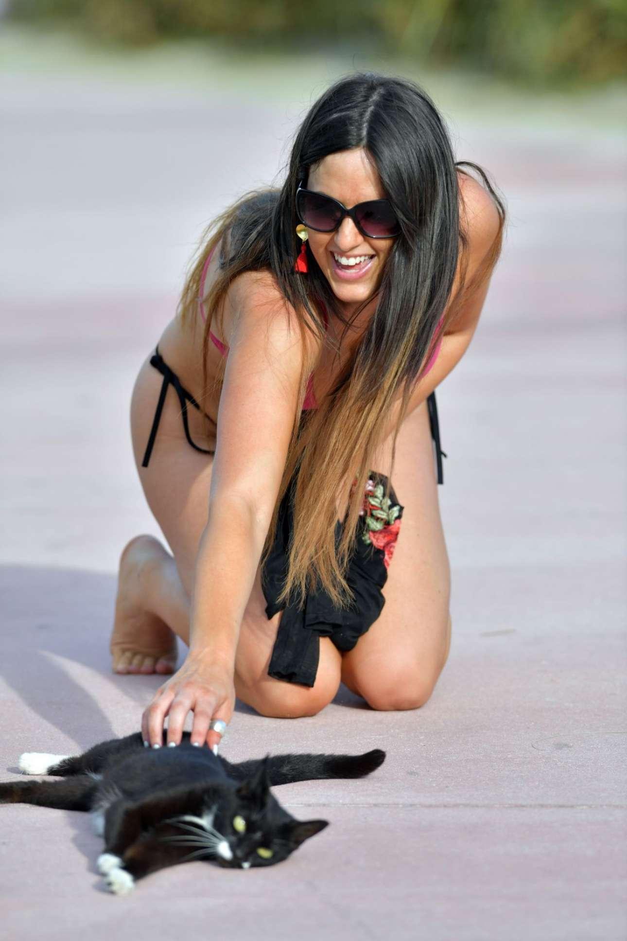 Claudia Romani 2018 : Claudia Romani: Bikini In Miami Beach -02