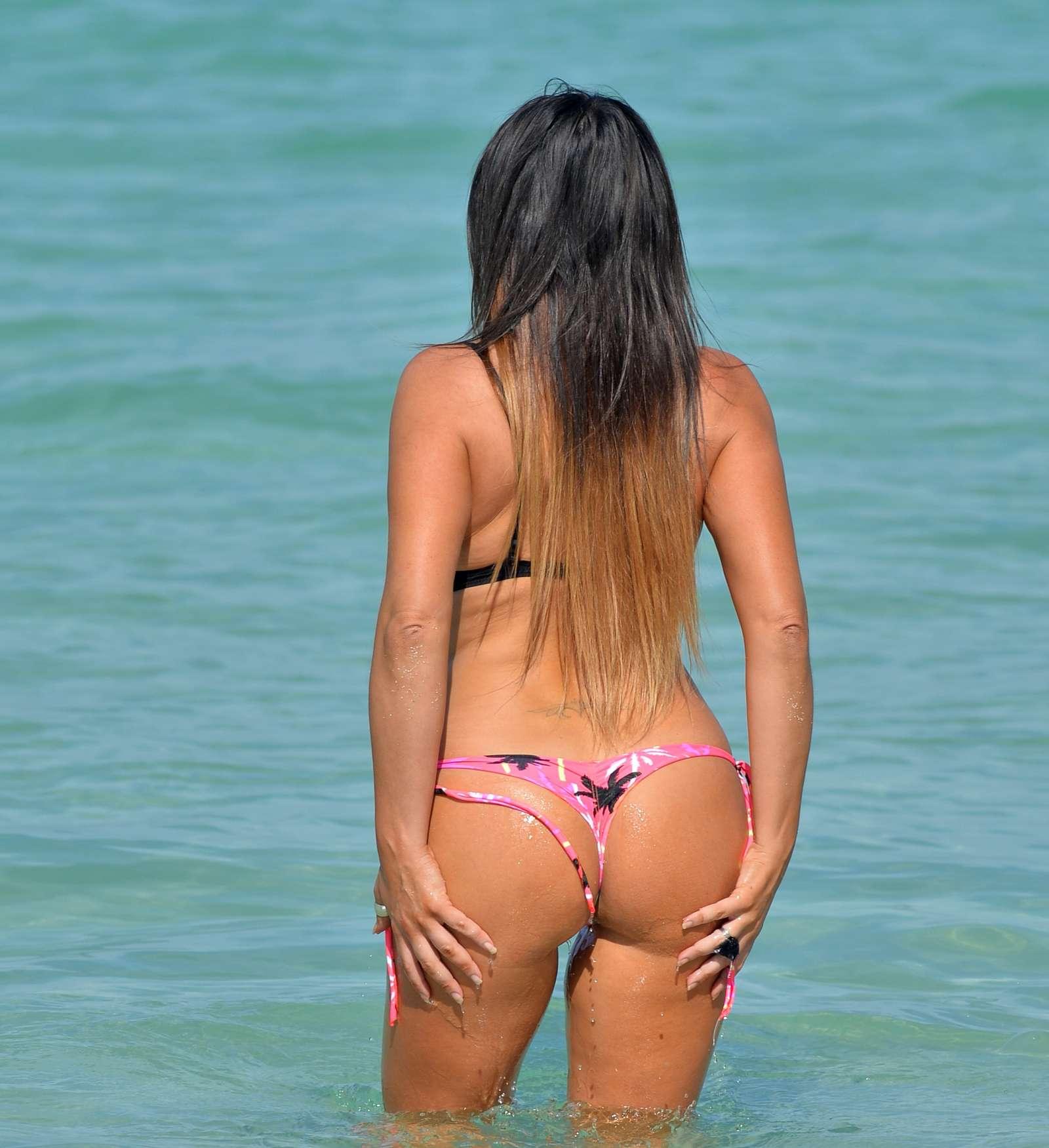 Dua Lipa Unleashes Booty And Boobs As She Slips Into Teeny String Thong Bikini