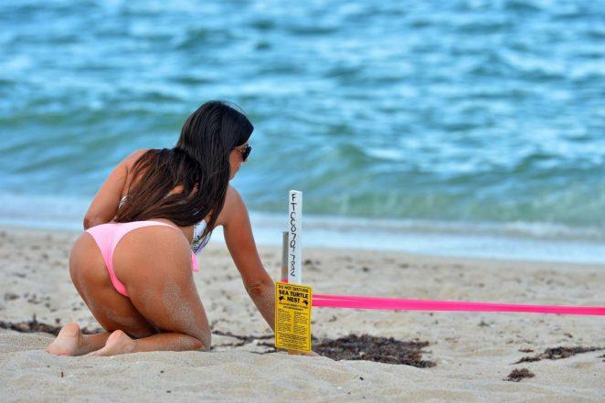 Claudia Romani in Bikini 2017 -22