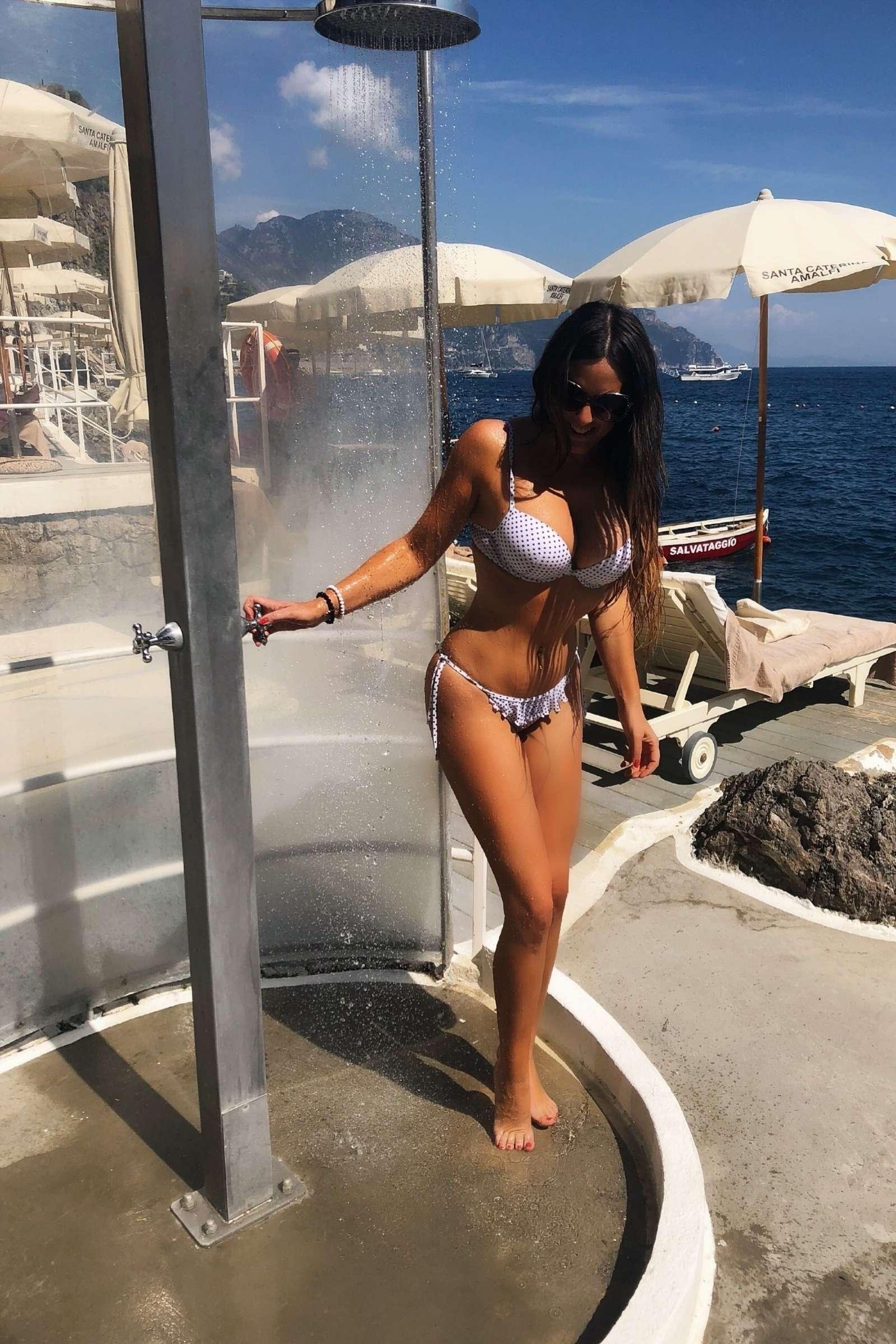 Claudia Romani 2018 : Claudia Romani in White Bikini 2018 -10