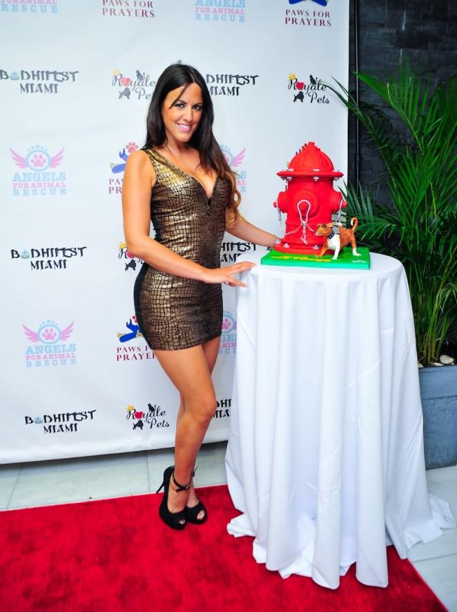 Claudia Romani – Joanna Krupa Charity Event in Miami