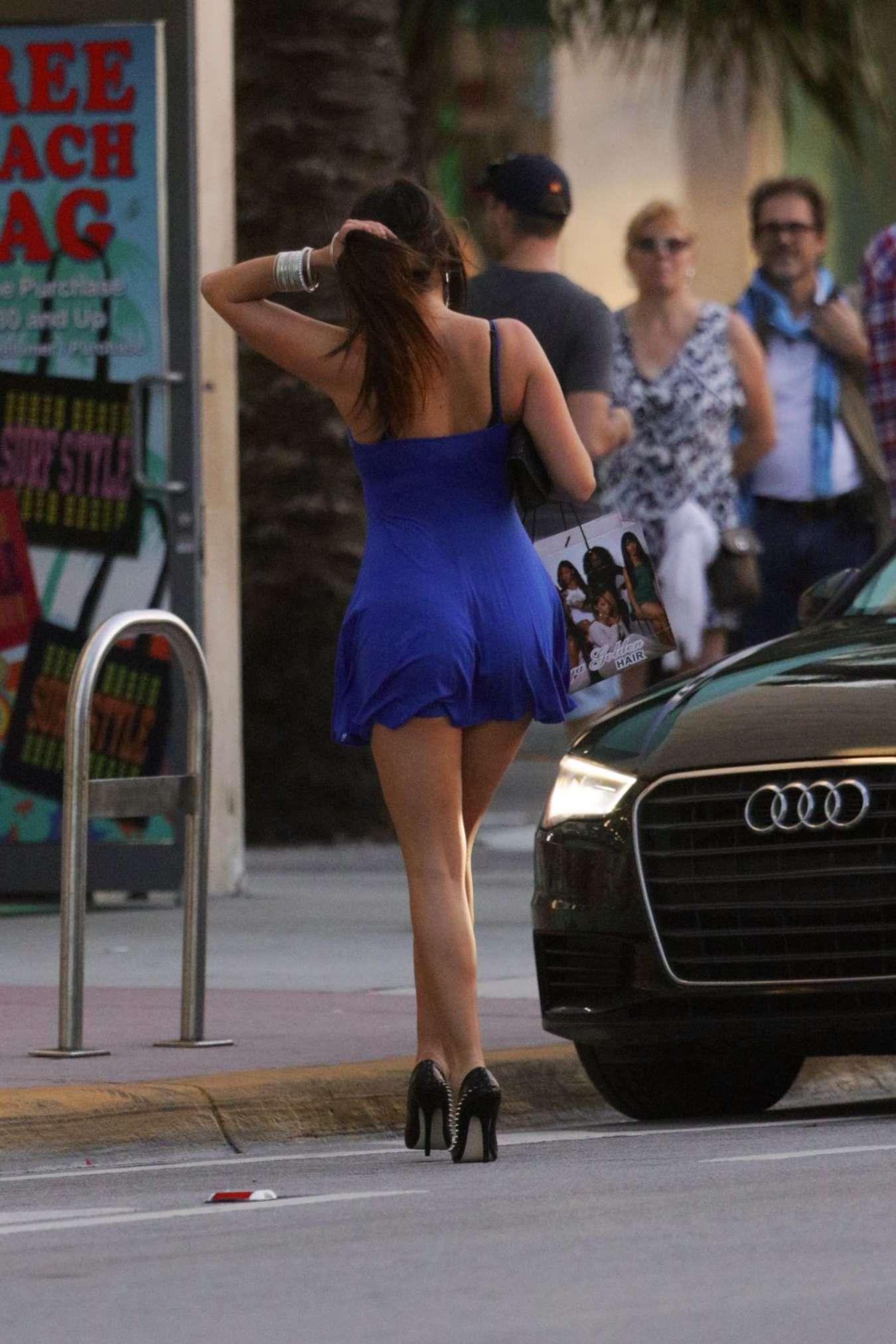 Claudia Romani 2015 : Claudia Romani in Short Dress -04