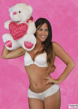 Claudia Romani - Valentine's Day Photoshoot 2015