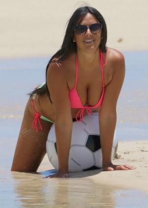 Claudia Romani Hot in Bikini -02