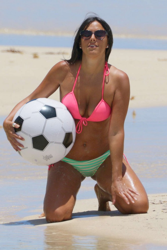 Claudia Romani - Hot in Bikini in Miami