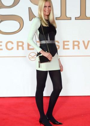 "Claudia Schiffer - ""Kingsman: The Secret Service"" Premiere in London"