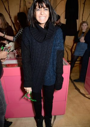 Claudia Winkleman - Stella McCartney Store Christmas Lights Switching on Ceremony in London