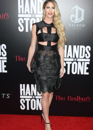 Claudine Jakubowicz - 'Hands of Stone' Premiere in New York
