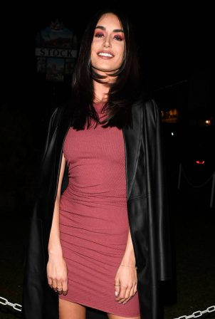 Clelia Theodorou - The Only Way is Essex TV Show filming in Essex