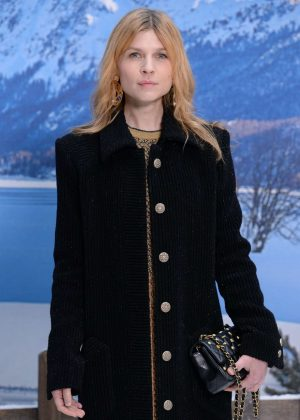 Clemence Poesy - Chanel Fashion Show in Paris