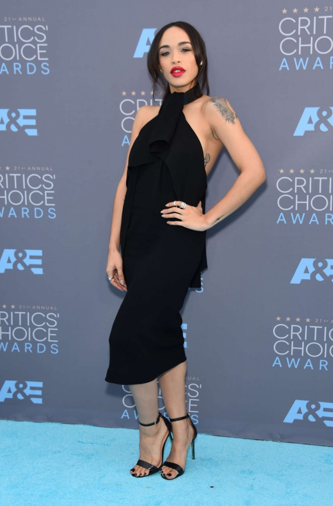 Cleopatra Coleman - 2016 Critics' Choice Awards in Santa Monica