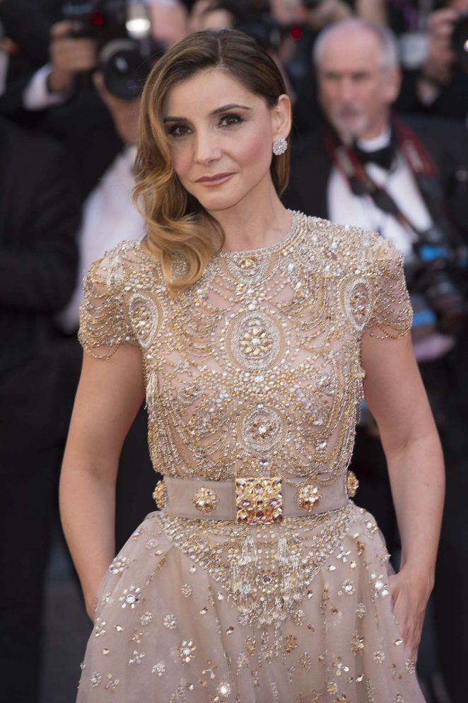 Clotilde Courau - 'Ismael's Ghosts' Screening at 70th Annual Cannes Film Festival in France