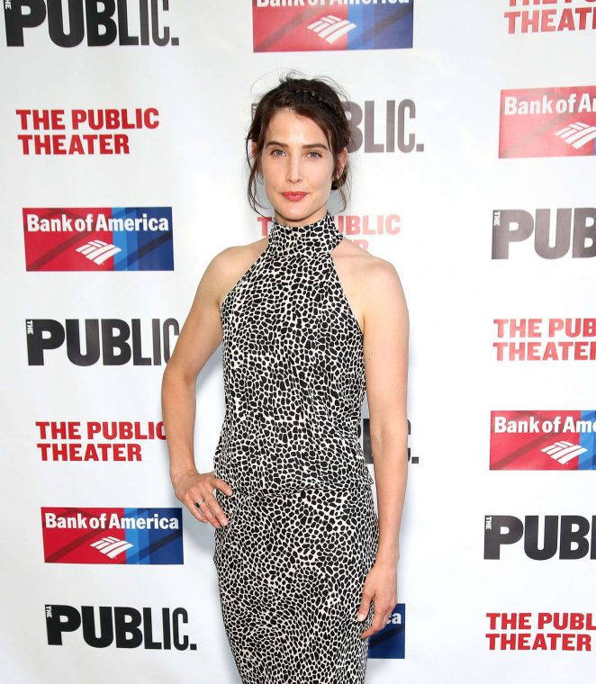 Cobie Smulders: 2016 Public Theater Gala -01