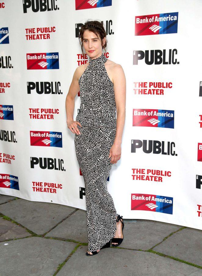 Cobie Smulders: 2016 Public Theater Gala -06