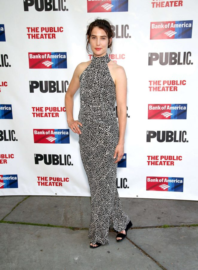 Cobie Smulders: 2016 Public Theater Gala -07