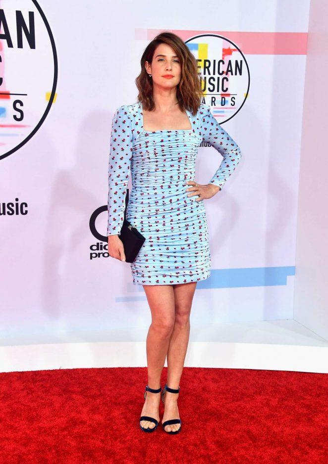 Cobie Smulders – 2018 American Music Awards in Los Angeles