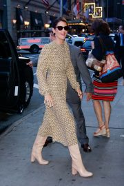 Cobie Smulders - Arriving at Good Morning America in New York