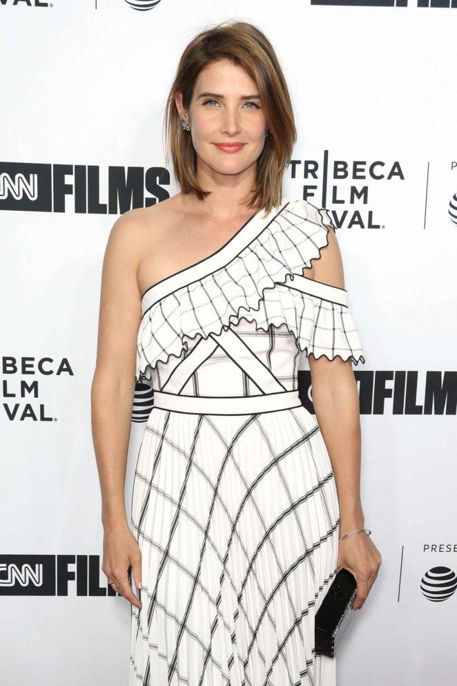 Cobie Smulders - 'Love, Gilda' Premiere at 2018 Tribeca Film Festival in NYC