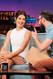 Cobie Smulders - On 'The Late Late Show With James Corden' in LA