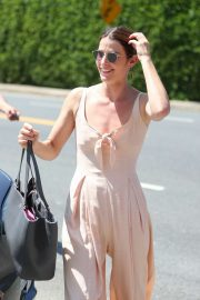 Cobie Smulders - Seen leaving the Day of Indulgence party in Brentwood