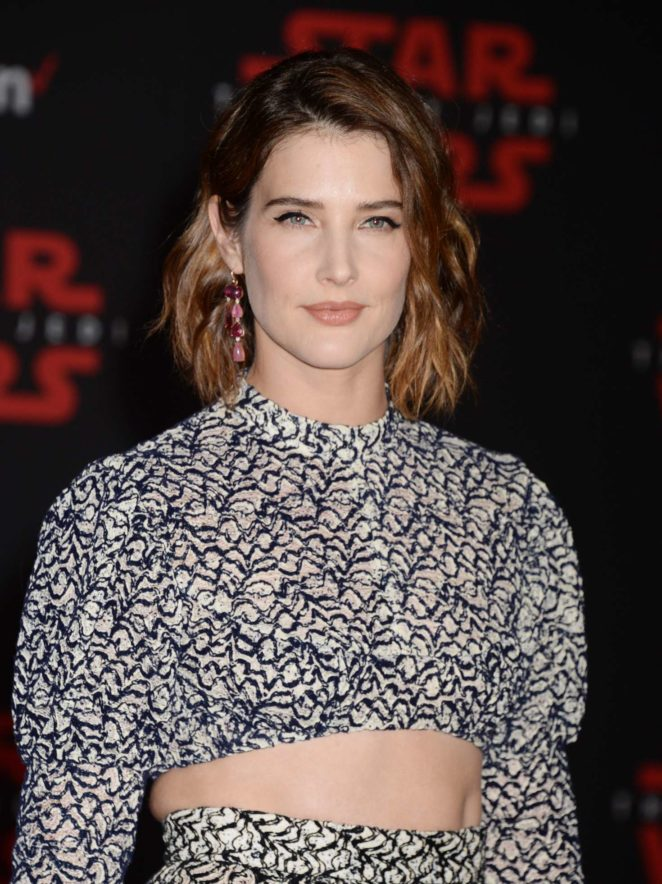 Cobie Smulders - 'Star Wars: The Last Jedi' Premiere in Los Angeles
