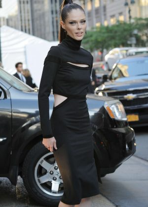 Coco Rocha - Arrives at 2016 CFDA Fashion Awards in New York