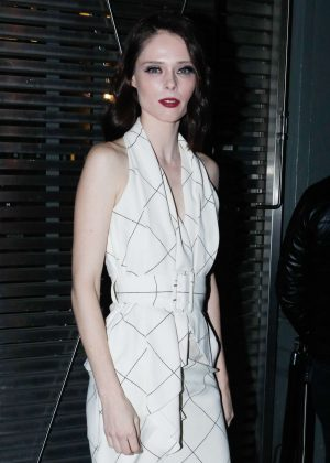 Coco Rocha - Arrives at Ralph & Russo Fashion Show in Paris