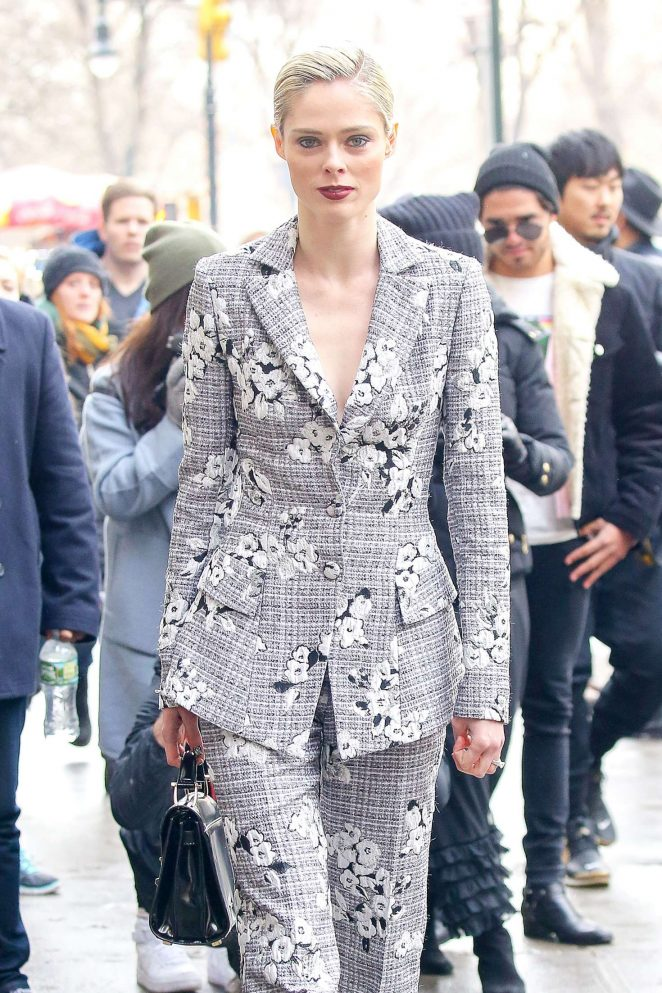Coco Rocha – Arriving at the Christian Siriano Show 2017 in NYC