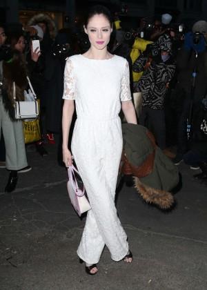 Coco Rocha at Diane Von Furstenberg Fashion Show in New York
