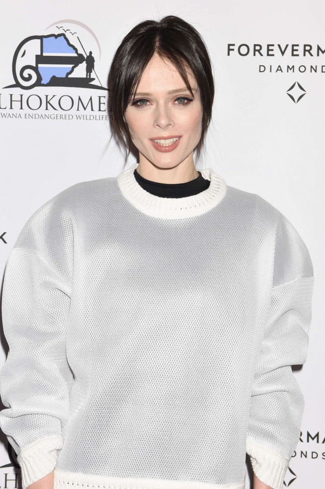 Coco Rocha at the Forevermark Dinner in NYC