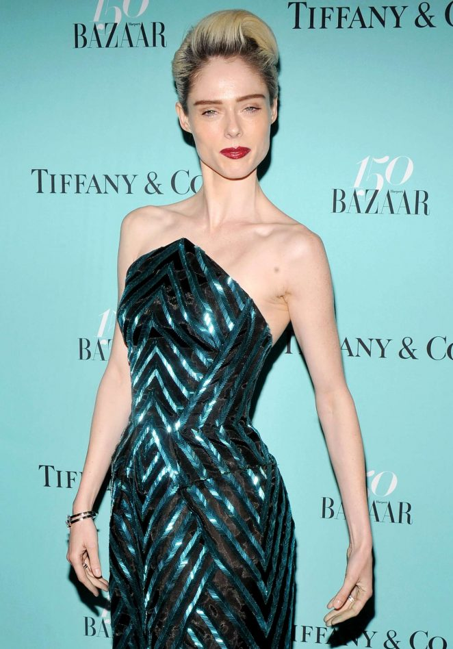 Coco Rocha - Harper's Bazaar and Tiffany and Co Celebrate 150 Years in NYC