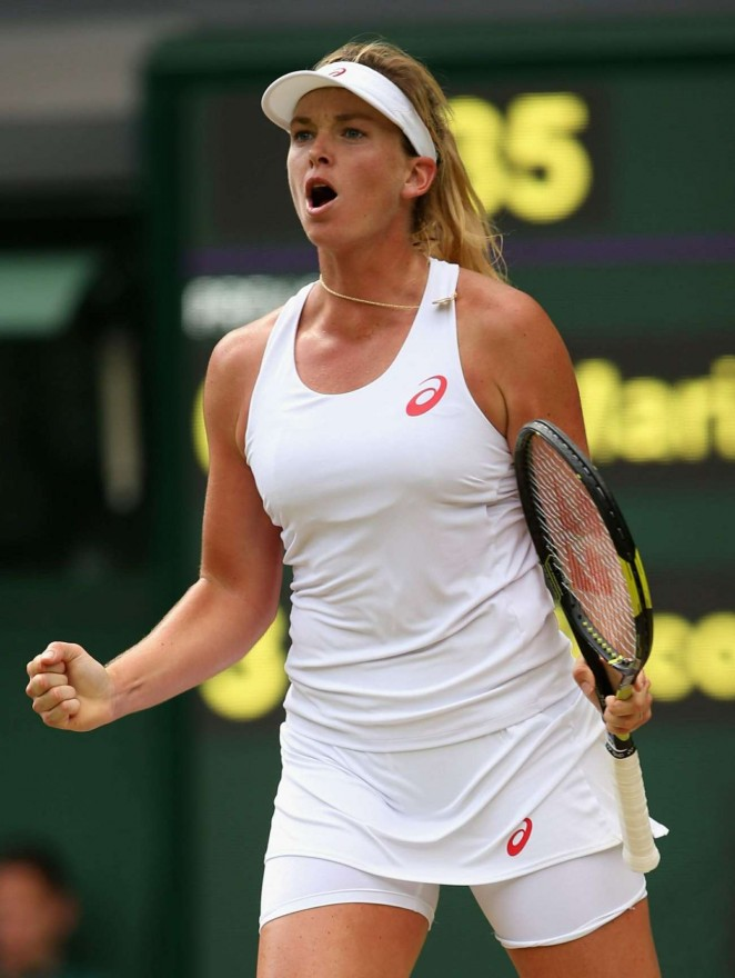 Coco Vandeweghe - Wimbledon Lawn Tennis Championships 2015 in London - Quarter Final