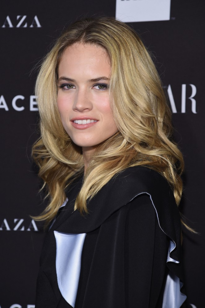 Cody Horn - Harpers Bazaar ICONS Event in NY