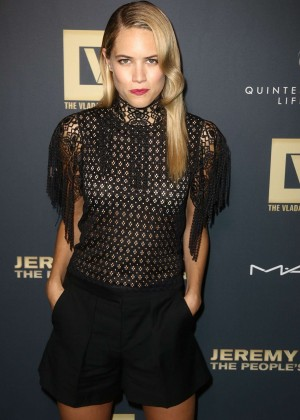 Cody Horn - 'Jeremy Scott: The People's Designer' Premiere in NY